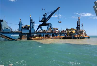 Cape Lambert Port B - Capital Dredging Works