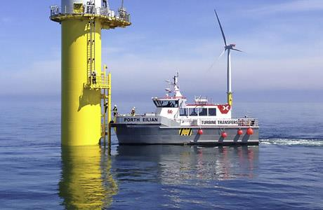 18m Windfarm Support  Vessel