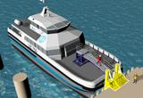 Transport study of offshore personnel for a large scale oilfield development