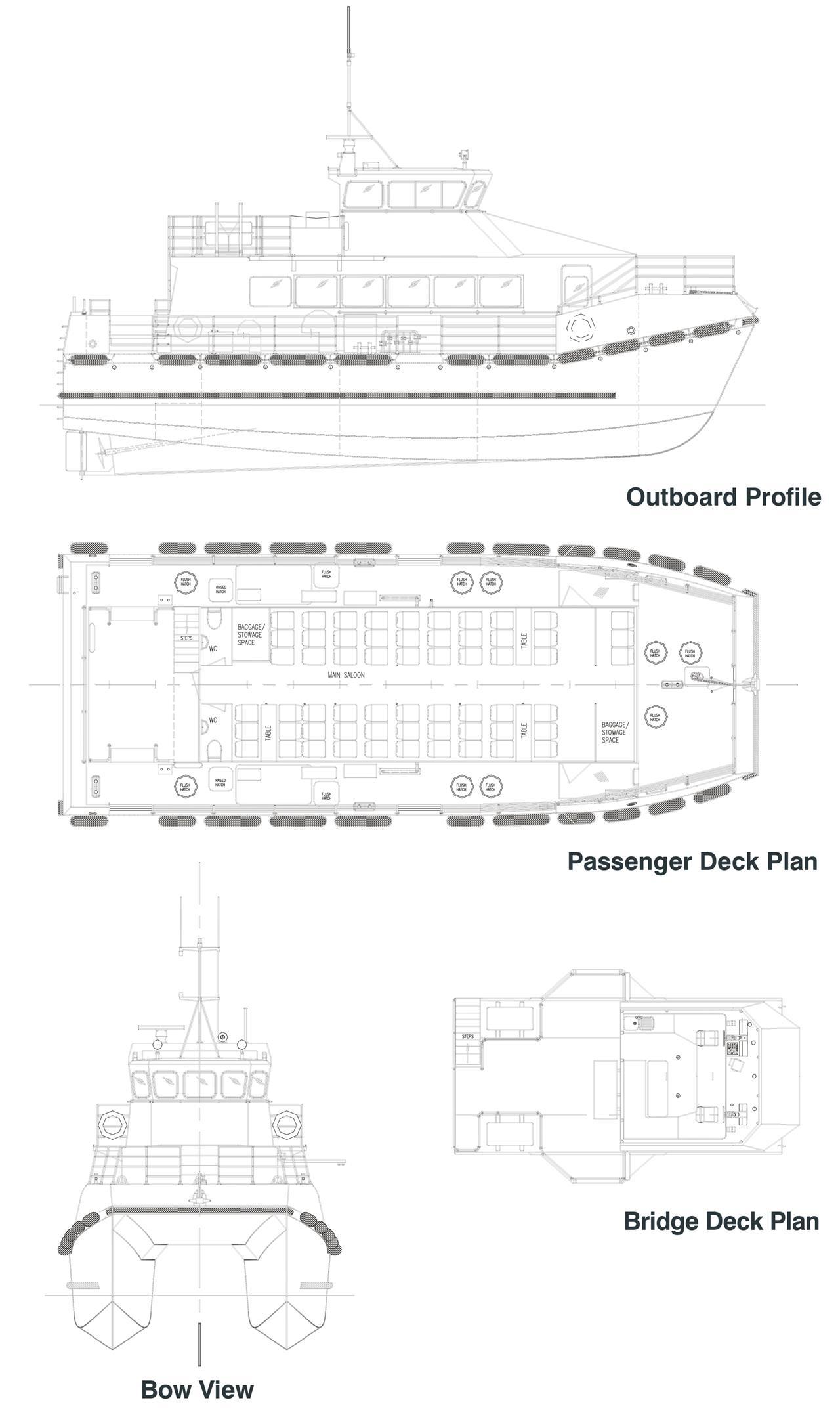 18m Crew Boat - NG319