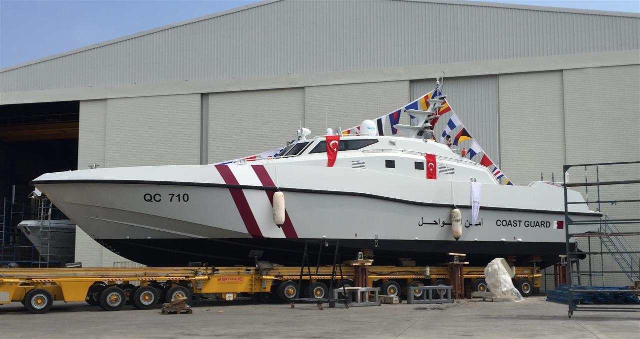 24m Qatar Patrol Boat - NG955