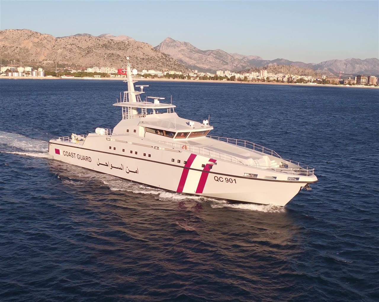 NG957 - 48m Qatar Patrol Boat