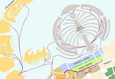 Marine Transport Masterplan, Dubai Waterfront and Palm Jebel Ali