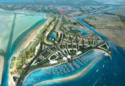 Marine safety for an island and beach development, Emirates