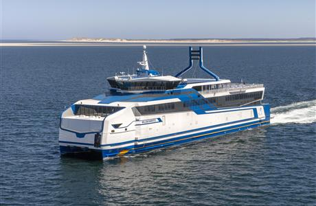 70m LNG Car Ferry